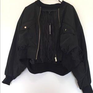 Trendy black jacket